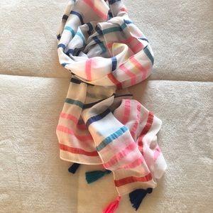 Fun bright scarf